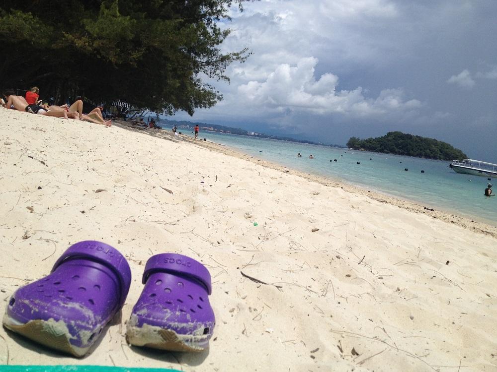 画像9 マヌカン島の海