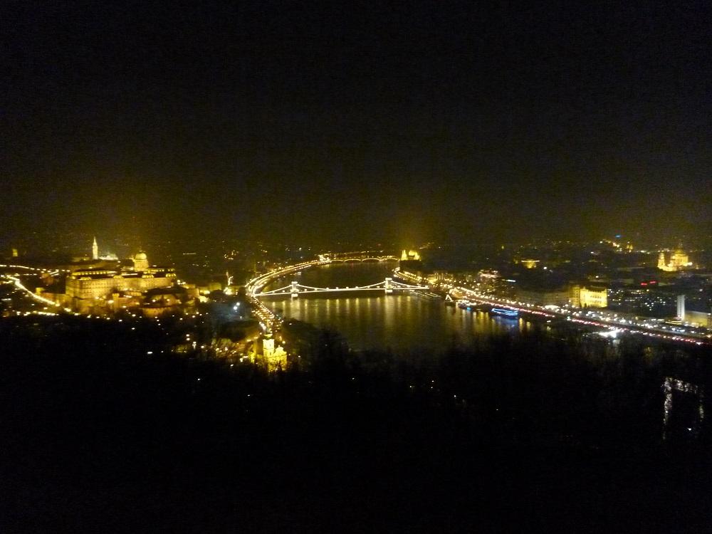 画像7 ゲッレールトの丘の夜景