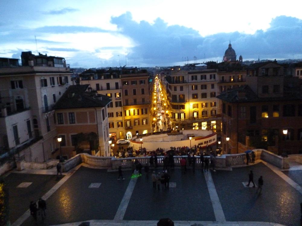 画像8 スペイン階段からの眺め