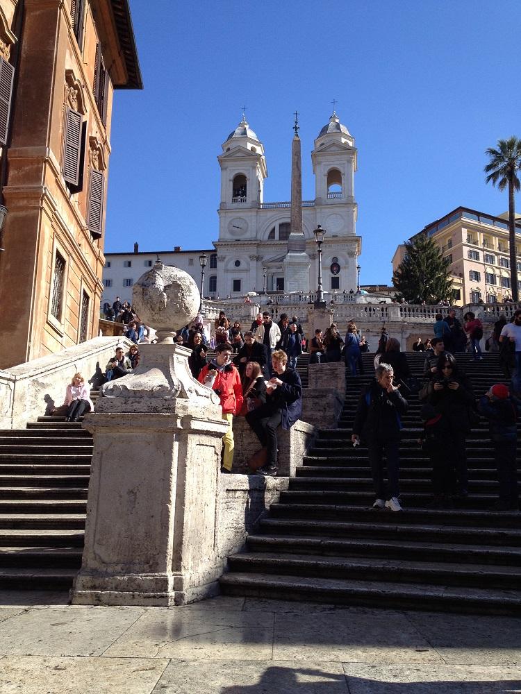 画像1 スペイン階段1
