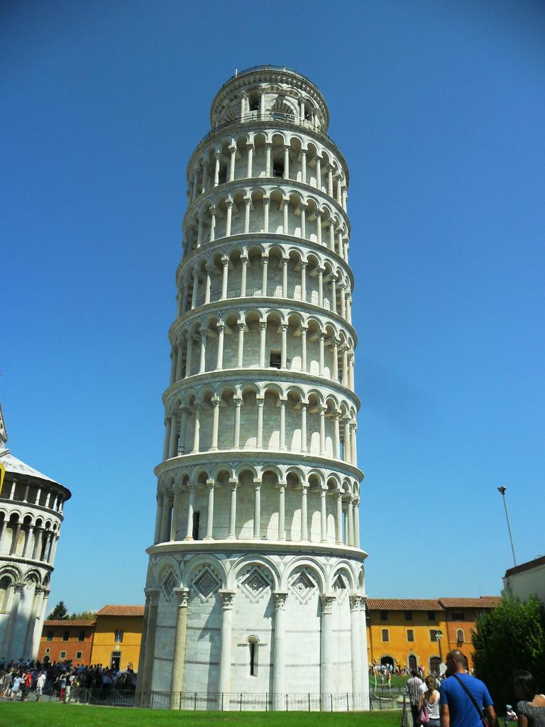 画像1 ピサの斜塔1