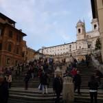 ローマのスペイン階段で「ローマの休日」気分を味わおう♪