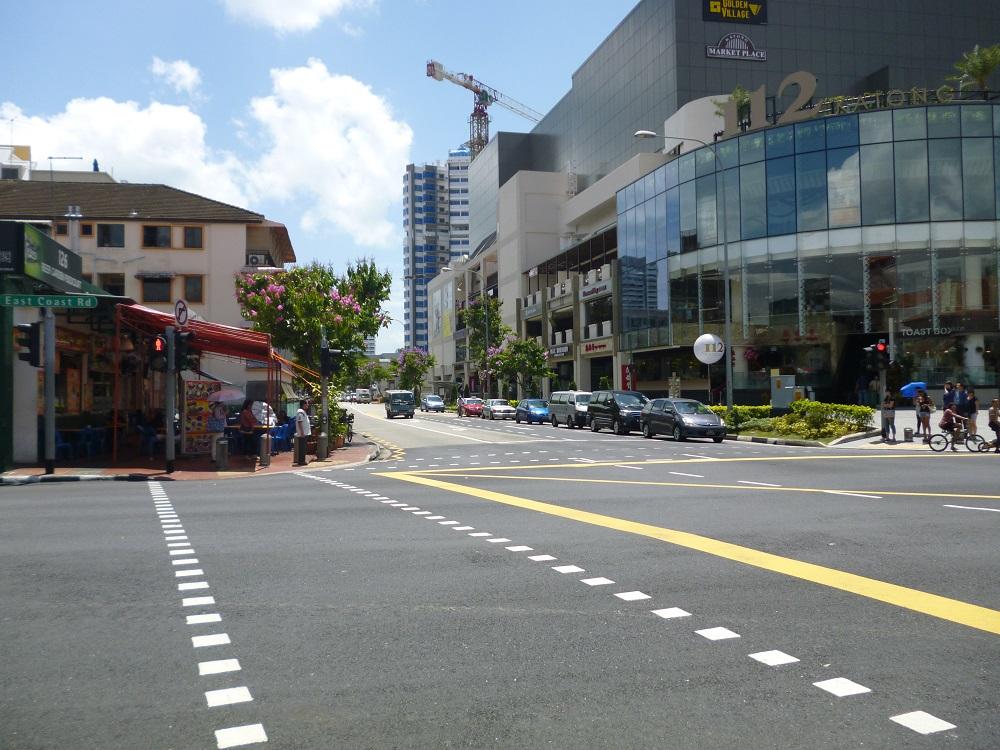 画像1 シンガポール街並み