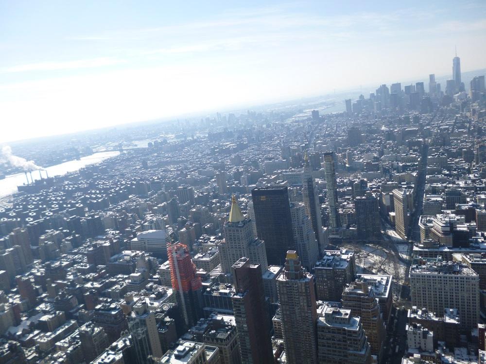 画像11 エンパイア・ステート・ビルからの景色