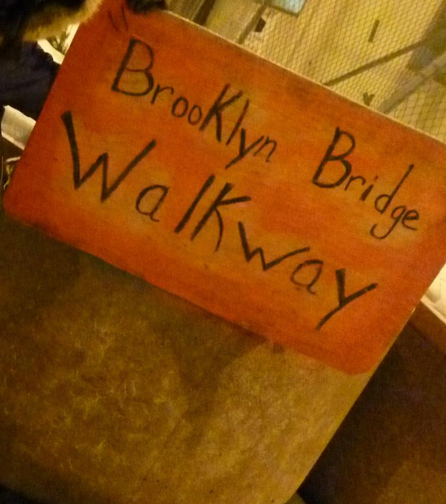 画像7 ブルックリン・ブリッジ入口