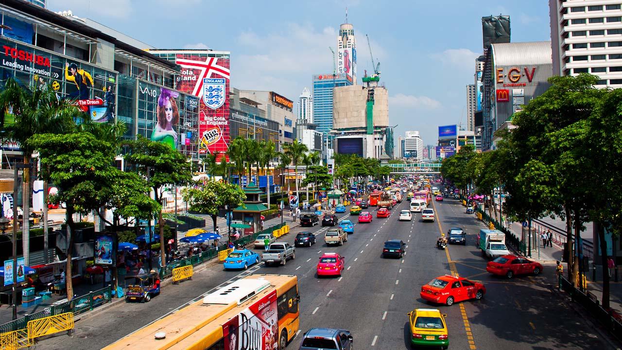 画像1 バンコク市内