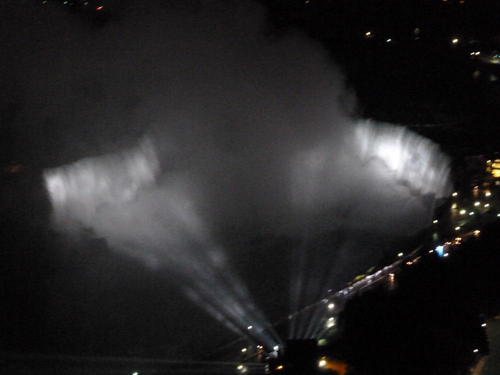 画像19 スカイロンタワーからの滝