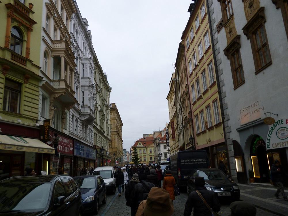 画像5 プラハ街並み