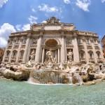 憧れの観光名所、ローマ・トレヴィの泉!