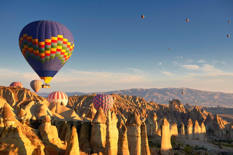 画像5 カッパドキア気球