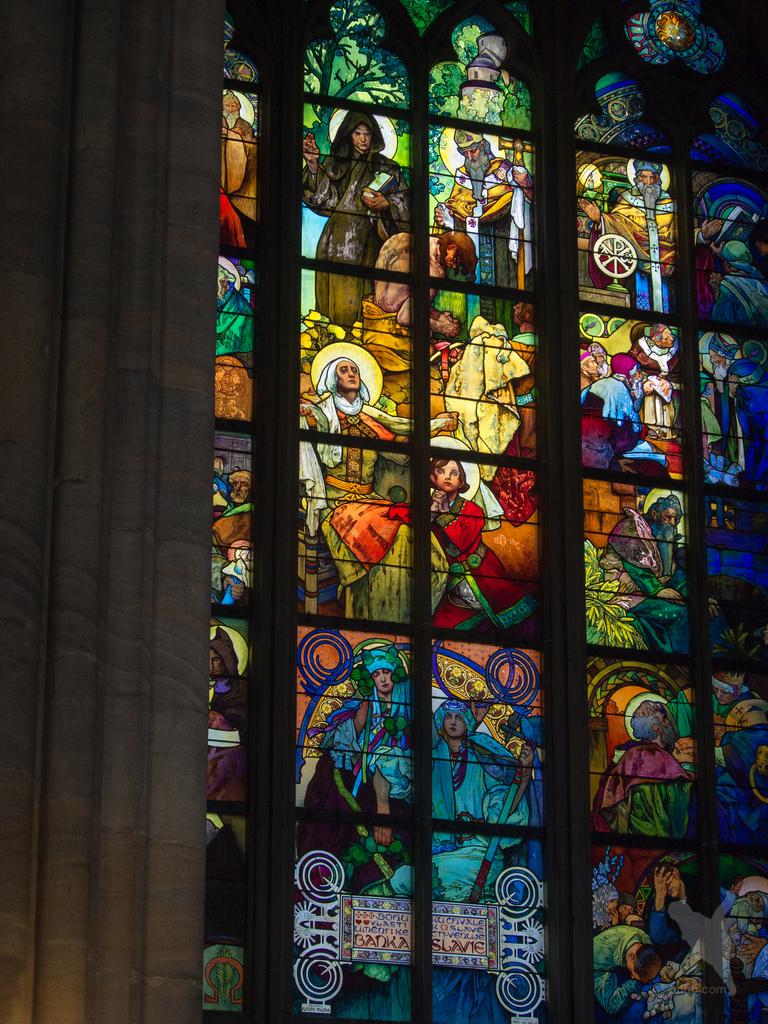 画像9 聖ヴィート大聖堂ガラス