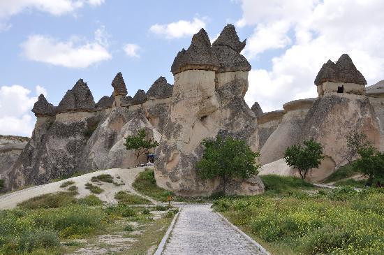 画像4 カッパドキアのキノコ岩